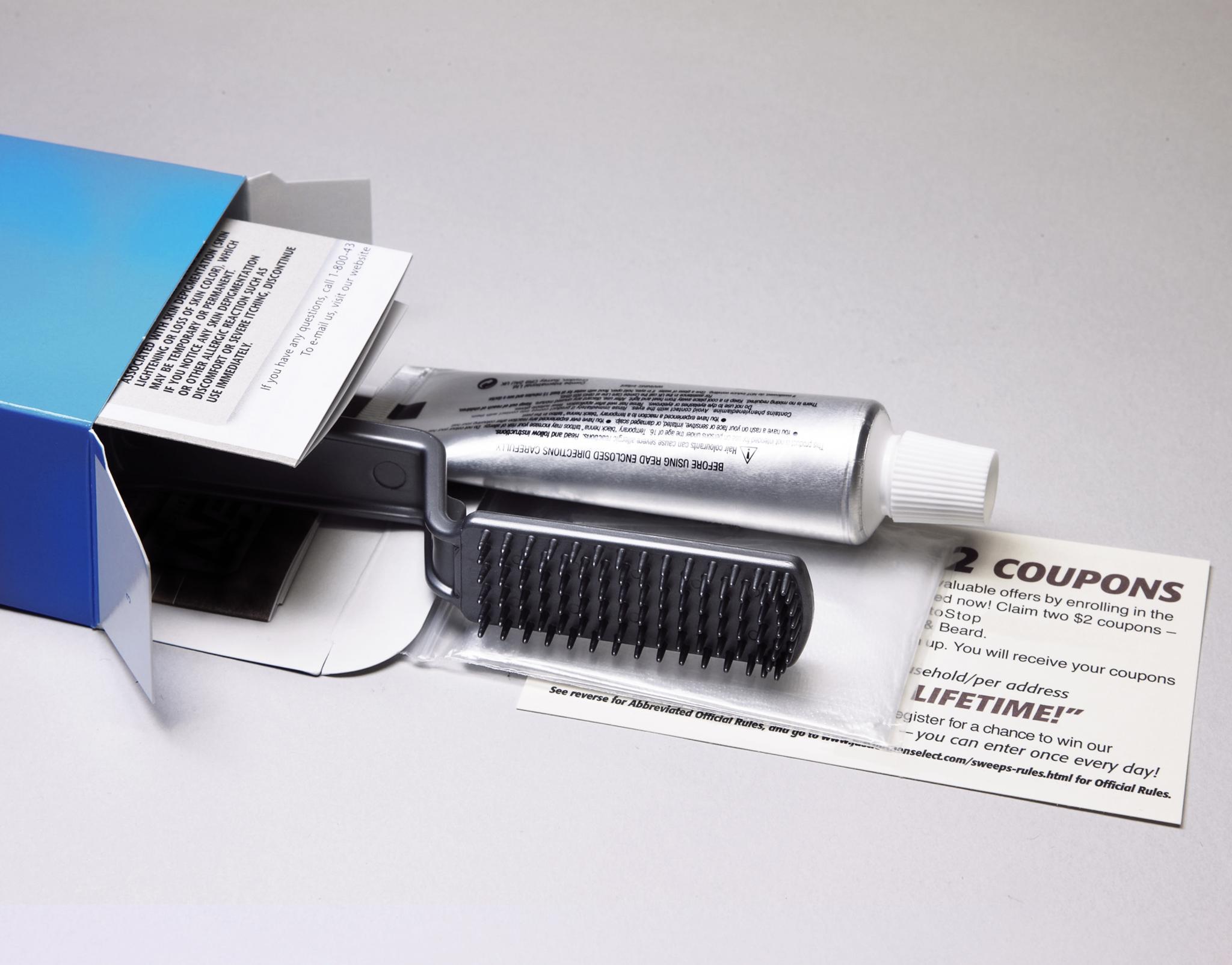 hair colour kit product