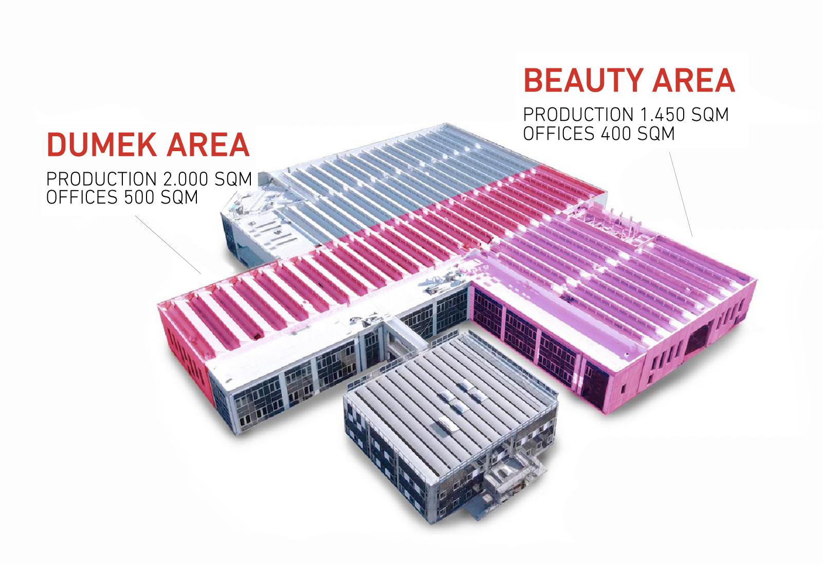 Beauty Division and New Dumek Area Extension